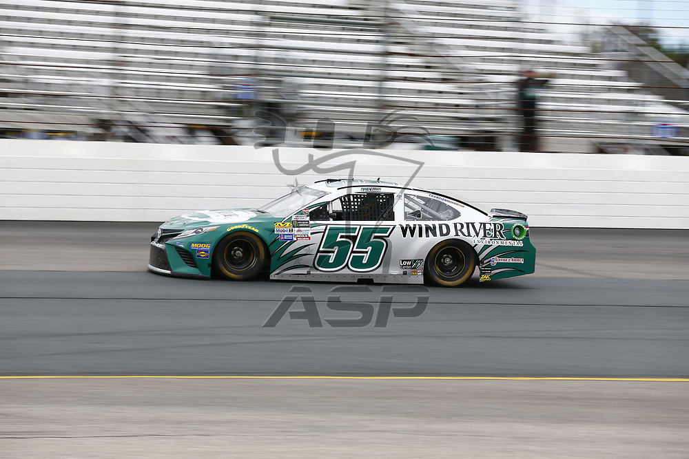 September 22, 2017 - Loudon, New Hampshire, USA: Gray Gaulding (55) takes to the track to practice for the ISM Connect 300 at New Hampshire Motor Speedway in Loudon, New Hampshire.