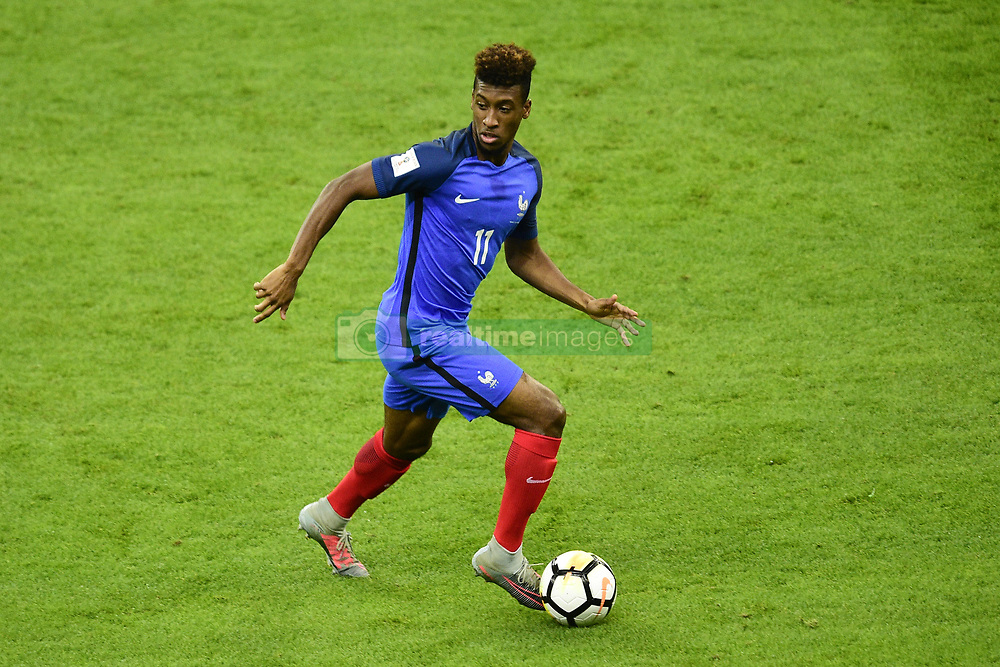 October 10, 2017 - St Denis, France, France - Kingsley Coman  (Credit Image: © Panoramic via ZUMA Press)