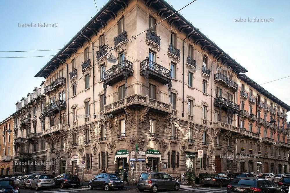 Casa guazzoni isabella balena archive - Casa stile liberty ...