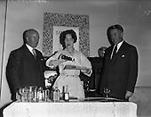 1960 - Sandran vinyl floor demonstration at the Shelbourne Hotel