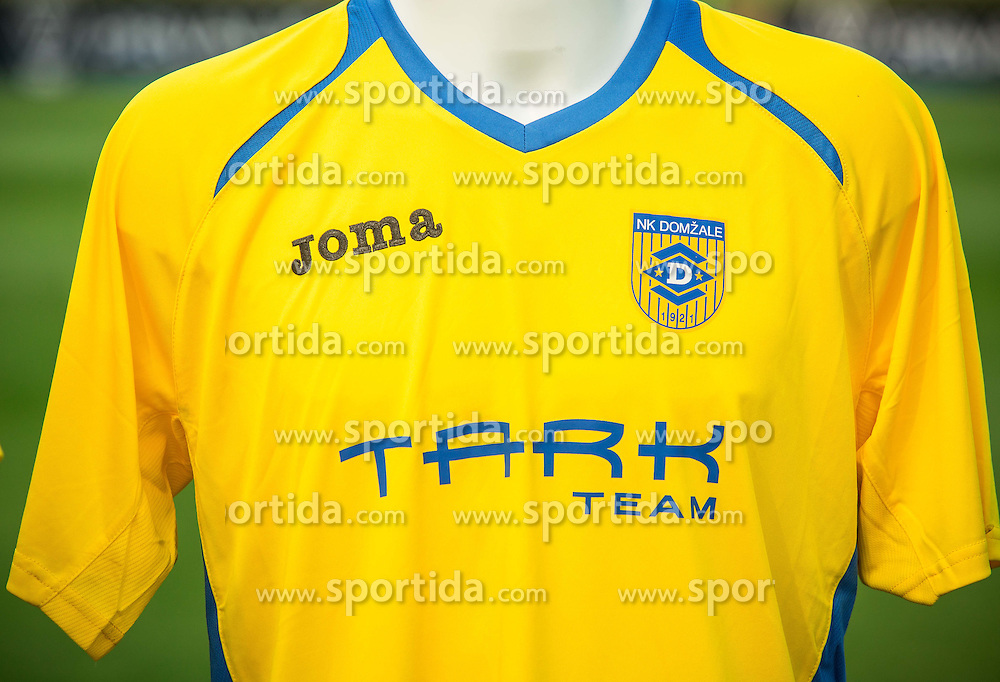 Jersey of NK Domzale during NZS Draw for season 2016/17, on June 24, 2016 in Brdo pri Kranju, Slovenia. Photo by Vid Ponikvar / Sportida