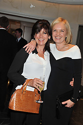 Left to right, EMMA FREUD and MARIELLA FROSTRUP at The Great Initiative event in association with jewellers Boodles held at The Corinthia Hotel, London on 6th November 2012.