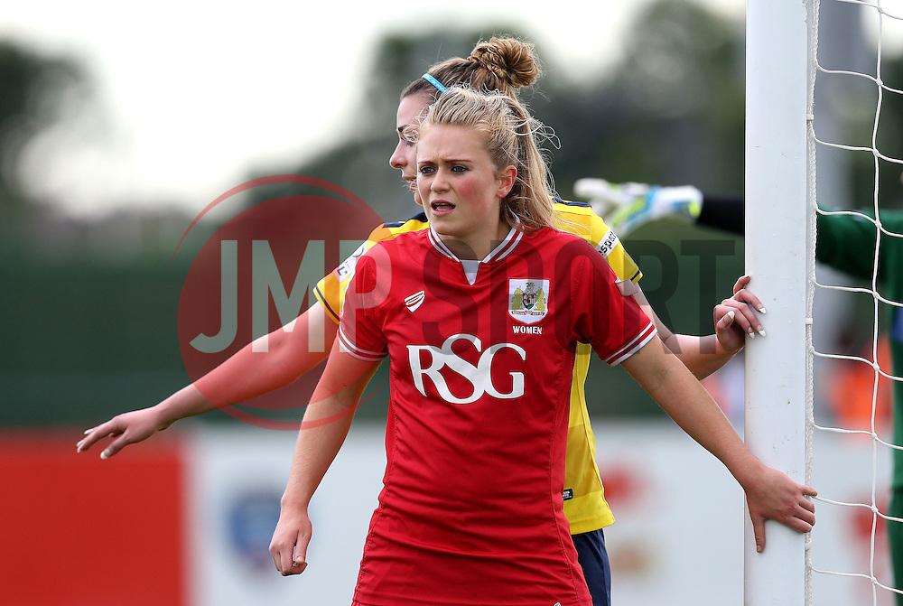 Millie Farrow of Bristol City Women - Mandatory by-line: Robbie Stephenson/JMP - 25/06/2016 - FOOTBALL - Stoke Gifford Stadium - Bristol, England - Bristol City Women v Oxford United Women - FA Women's Super League 2