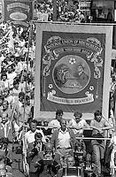 Barnburgh banner1984 Yorkshire Miner's Gala. Wakefield.