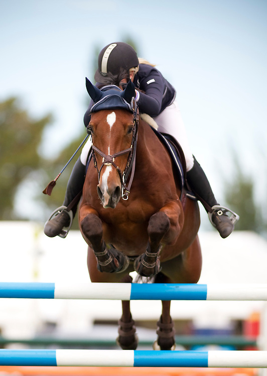 Horse jumping, Hastings, New Zealand, Friday, March 30, 2012. Photo: SNPA / Bethelle McFedries