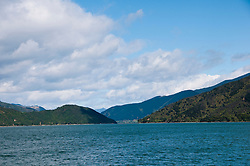 New Zealand, South Island, Green Mussel Cruise out of Havelock, Marlborough, on ship Odyssea to see mussel farming and scenery in Kenepuru Sound. Photo copyright Lee Foster. Photo #126163