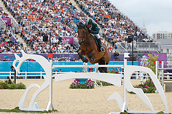 Bahamdan Kamal (KSA) - Noblesse des Tess<br /> Olympic Games London 2012<br /> © Dirk Caremans