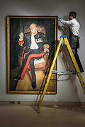 LUCIAN FREUD (1922-2011)<br /> The Brigadier<br /> Painted in 2003-2004.<br /> Estimate: $25,000,000-35,000,000 - Christie&rsquo;s showcases  the London Post-War and Contemporary Art Evening Sale in October, alongside an exceptional selection of works from the  New York sales in November of Impressionist, Modern, Post-War And  Contemporary Art. The works will be on view to the public from Saturday 10 October to Saturday 17 October at Christie&rsquo;s King Street. The highlight is  Amedeo Modigliani&rsquo;s, &lsquo;Nu couch&eacute; (Reclining  Nude)&rsquo;, painted in 1917-18, which has an estimate in the region of $100 million.