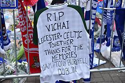 Tribute from Celtic fans (c) Simon Kimber | SportPix.org.uk
