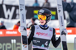 16.03.2019, Vikersundbakken, Vikersund, NOR, FIS Weltcup Skisprung, Raw Air, Vikersund, Teambewerb, im Bild Dominik Peter (SUI) // Dominik Peter of Switzerland during the team competition of the 4th Stage of the Raw Air Series of FIS Ski Jumping World Cup at the Vikersundbakken in Vikersund, Norway on 2019/03/16. EXPA Pictures © 2019, PhotoCredit: EXPA/ JFK