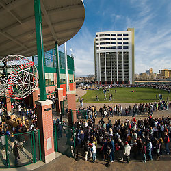 Images from the Reno Aces vs. the Fresno Grizzlies at Aces Ballpark in Downtown Reno, Saturday, April 10, 2010. ..Photo by David Calvert/Reno Aces
