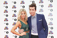 Mollie King; Nick Grimshaw BBC Radio 1 Teen Awards, Wembley Arena, London, UK. 09 October 2011. Contact: Rich@Piqtured.com +44(0)7941 079620 (Picture by Richard Goldschmidt)