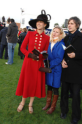 LADY GABRIELLA WINDSOR at the 2007 Hennessy Gold Cup held at Newbury racecourse, Berkshire on 1st December 2007.<br />
