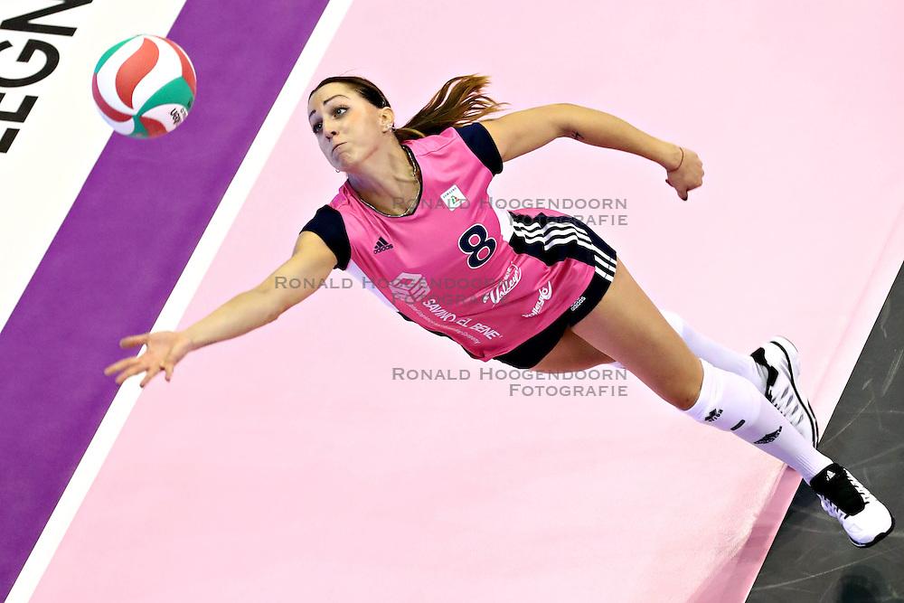 15-10-2016 ITA: Imoco Volley Conegliano - Savino Del Bene Scandiddi, Treviso<br /> Conegliano verliest in eigen huis met 3-2 / MERLO ENRICA<br /> <br /> ***NETHERLANDS ONLY***