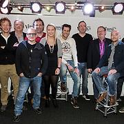 NLD/Naarden/20150202 - Nieuwe dj's voor Radio Veronica, Alex Oosterveen en Martijn Muijs