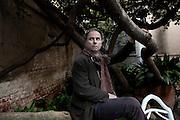 """Milan, and writer Umberto Pasti.Umberto Pasti è nato a Milano. Ha collaborato a """"il Giornale"""" e a """"La Voce"""" di Indro Montanelli con articoli sull'arte e sulla letteratura. Ha scritto di viaggi, di costume e di attualità su periodici italiani e stranieri (""""Vogue"""", """"Elle"""", """"House and Garden"""", """"The World of Interiors""""). Ha tradotto per La Tartaruga le lettere di Marcel Proust alla madre (1986). Esperto di ceramica islamica e appassionato di botanica, vive a Milano, a Tangeri e nei pressi di un villaggio nel nord del Marocco..Il Saggiatore ha già pubblicato L'età fiorita (2000, finalista al Premio Viareggio) e L'Accademia del dottor Pastiche (2008), da Bompiani è uscito nel 2010 Giardini e no. Manuale di resistenza botanica (4 edizioni)."""