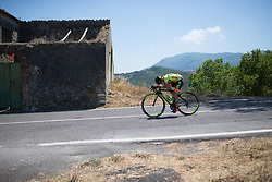 Ane Santesteban Gonzalez (ESP) of Ale-Cipollini Cycling Team descends in an aero position on Stage 8 of the Giro Rosa - a 141.8 km road race, between Baronissi and Centola fraz. Palinuro on July 7, 2017, in Salerno, Italy. (Photo by Balint Hamvas/Velofocus.com)