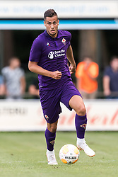 David Hancko of ACF Fiorentina during the Pre-season Friendly match between Heracles Almelo and Fiorentina at Sportpark Wiesel  on August 01, 2018 in Wenum-Wiesel , The Netherlands