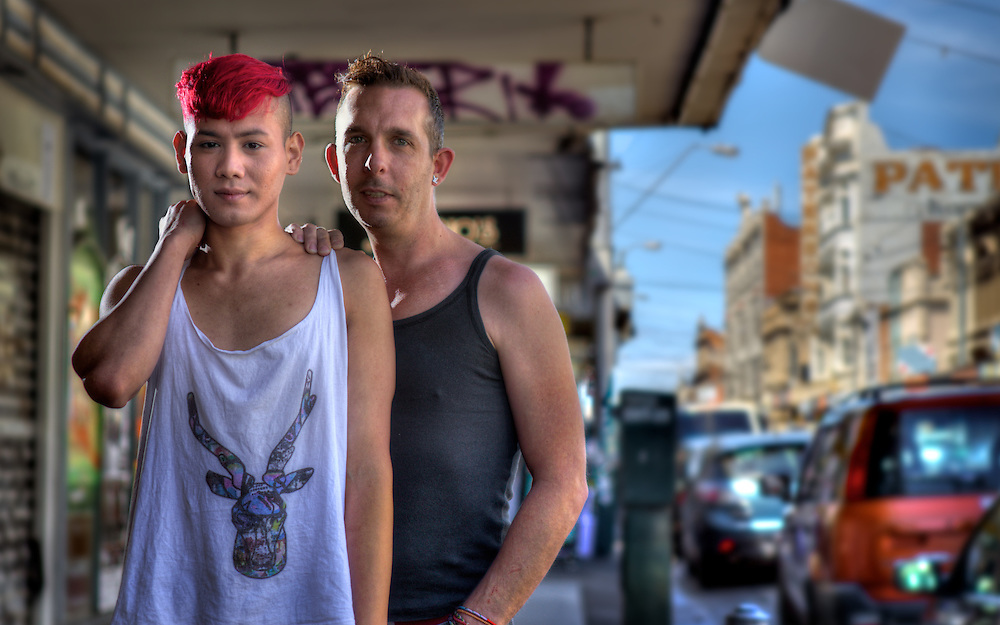 21 year old Karl Sinlao &amp; his partner Alexander. Pic By Craig Sillitoe CSZ/The Sunday Age.6/1/2012 melbourne photographers, commercial photographers, industrial photographers, corporate photographer, architectural photographers, This photograph can be used for non commercial uses with attribution. Credit: Craig Sillitoe Photography / http://www.csillitoe.com<br />