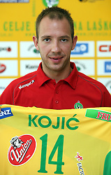 Nikola Kojic at press conference of handball club RK Celje Pivovarna Lasko before new season 2008/2009, on September 2, 2008 in Celje, Slovenia. (Photo by Vid Ponikvar / Sportal Images)