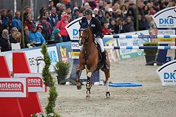 Kreuzer, Andreas (GER)<br />  Calvilot<br /> Hagen - Horses and Dreams 2016<br /> © Stefan Lafrentz