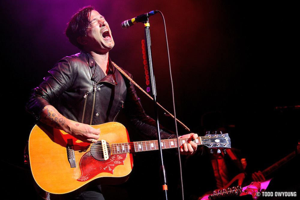 Photos of Butch Walker performing at the Pageant in St. Louis in support of Train on April 5, 2010.