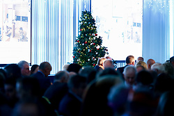 A general view of the room during the annual Exeter Chiefs Foundation Christmas Dinner at Sandy Park - Ryan Hiscott/JMP - 07/12/2018 - RUGBY - Sandy Park - Exeter, England - Exeter Chiefs Foundation Christmas Dinner with David Flatman