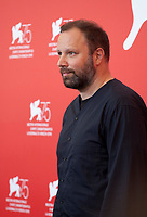 Director Yorgos Lanthimos at the photocall for the film The Favourite at the 75th Venice Film Festival, on Thursday 30th August 2018, Venice Lido, Italy.