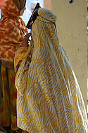 Omani woman at Souq, Market, Sinaw, Oman, Arabian Peninsula