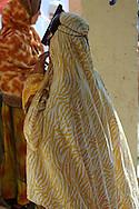 Omani woman at Souq, Market, Sinaw, Oman, Arabian Peninsula