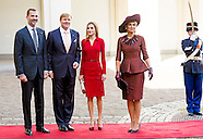 KING WILLEM ALEXANDER AND QUEEN MAXIMA WITH KING FELIPE AND QUEEN LETIZIA