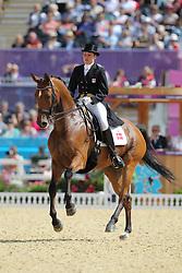 Seierskilde, Lisbeth, Raneur<br /> London - Olympische Spiele 2012<br /> <br /> Dressur Grand Prix de Dressage<br /> © www.sportfotos-lafrentz.de/Stefan Lafrentz