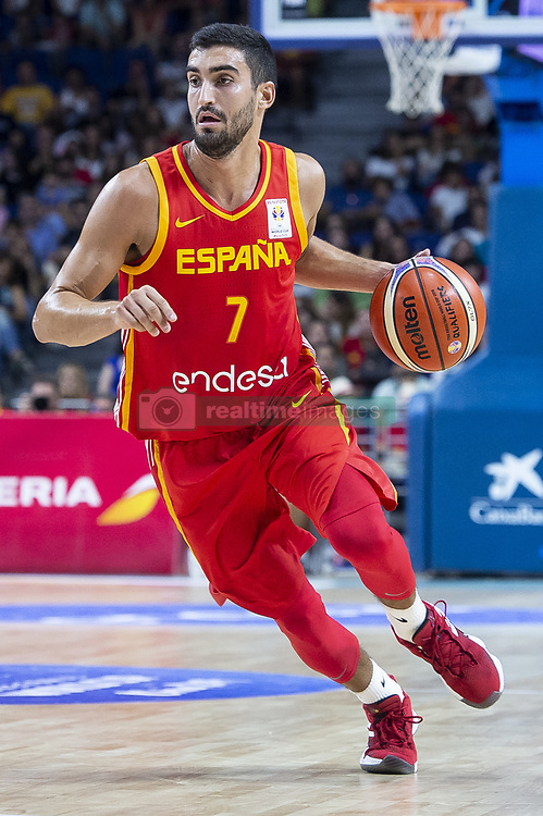 September 17, 2018 - Madrid, Spain - Jaime Fernandez of Spain during the FIBA Basketball World Cup Qualifier match Spain against Latvia at Wizink Center in Madrid, Spain. September 17, 2018. (Credit Image: © Coolmedia/NurPhoto/ZUMA Press)