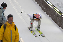05.01.2012, Paul Ausserleitner Schanze, Bischofshofen, AUT, 60. Vierschanzentournee, FIS Ski Sprung Weltcup, Training, im Bild Severin Freund (GER) // Severin Freund of Germany during a practice session of 60th Four-Hills-Tournament FIS World Cup Ski Jumping at Paul Ausserleitner Schanze, Bischofshofen, Austria on 2012/01/05. EXPA Pictures © 2012, PhotoCredit: EXPA/ Johann Groder
