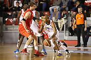 DESCRIZIONE : Roma Lega A 2013-14 Acea Virtus Roma EA7 Emporio Armani Milano<br /> GIOCATORE : Phil Goss<br /> CATEGORIA : palleggio blocco<br /> SQUADRA : Acea Virtus Roma<br /> EVENTO : Campionato Lega A 2013-2014 <br /> GARA : Acea Virtus Roma  EA7 Emporio Armani Milano<br /> DATA : 02/12/2013<br /> SPORT : Pallacanestro <br /> AUTORE : Agenzia Ciamillo-Castoria/ElioCastoria<br /> Galleria : Lega Basket A 2013-2014  <br /> Fotonotizia : Roma Lega A 2013-14 Acea Virtus Roma EA7 Emporio Armani Milano