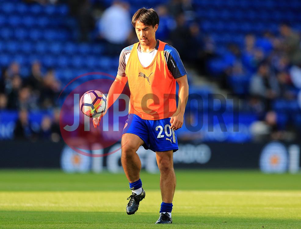 Shinji Okazaki of Leicester City - Mandatory by-line: Paul Roberts/JMP - 23/09/2017 - FOOTBALL - King Power Stadium - Leicester, England - Leicester City v Liverpool - Premier League