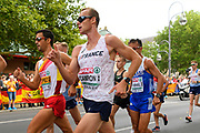 Kevin Campion (FRA) competes in 20km Race Walk Men during the European Championships 2018, at Olympic Stadium in Berlin, Germany, Day 5, on August 11, 2018 - Photo Julien Crosnier / KMSP / ProSportsImages / DPPI