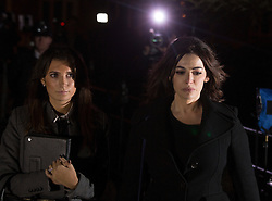 © Licensed to London News Pictures. 05/12/13. London, UK  Nigella Lawson leaves Isleworth Crown court today Thursday 5th December after finishing giving evidence at the trial of two former personal assistants who worked for her and Charles Saatchi. Italian Sisters Elisabetta and Francesca Grillo are accused of misappropriating funds while working for Saatchi and Lawson . Photo credit : Gavin Rodgers/LNP