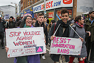 20 Feb 2016 - Hundreds march in first Community Pride March in Peckham against migrant deportation.