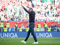 01.05.2019, Woerthersee Stadion, Klagenfurt, AUT, OeFB Uniqa Cup, FC Red Bull Salzburg vs SK Rapid Wien, Finale, im Bild Trainer Marco Rose (RB Salzburg) // during the Final match of the ÖFB Uniqa Cup between FC Red Bull Salzburg and SK Rapid Wien at the Woerthersee Stadion in Klagenfurt, Austria on 2019/05/01. EXPA Pictures © 2019, PhotoCredit: EXPA/ Johann Groder