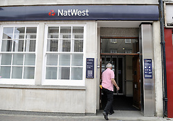© Licensed to London News Pictures. 23/06/2012 .Natwest bank in Orpington High Street (today 23/06/2012).Natwest Bank computer chaos continues as customers try to withdraw their cash and pay bills. The bank looks set to be open  on Sunday to deal with unhappy customers..Photo credit : Grant Falvey/LNP