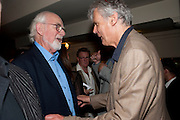 ANTONY JAY; SIMON WILLIAMS, Yes, Prime Minister Press night re-opening at Apollo Theatre, Shaftesbury Avenue London<br /> <br /> <br />  , -DO NOT ARCHIVE-© Copyright Photograph by Dafydd Jones. 248 Clapham Rd. London SW9 0PZ. Tel 0207 820 0771. www.dafjones.com.