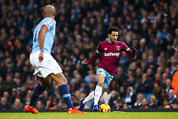 Felipe Anderson of West Ham United - Mandatory by-line: Robbie Stephenson/JMP - 27/02/2019 - FOOTBALL - Etihad Stadium - Manchester, England - Manchester City v West Ham United - Premier League