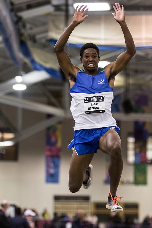 USATF Indoor Track & Field Championships: mens triple jump, Joshua Honeycutt
