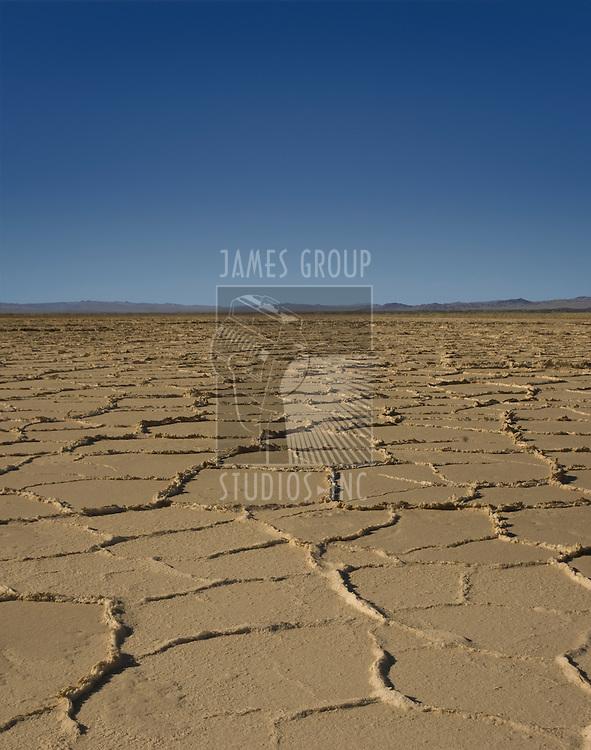 Salt flats near Death Valley