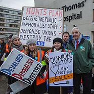 10 Feb 2016 - Junior Doctors in second 24 hour National Strike.