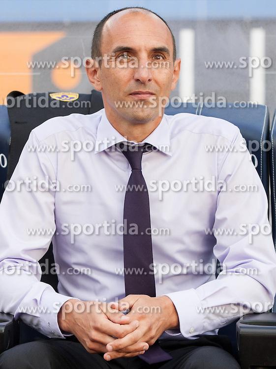 Krunoslav Jurcic, head coach of Maribor during football match between ND Gorica and NK Maribor in 9th Round of Prva liga Telekom Slovenije 2015/16, on September 12, 2015, in Sports centrum Nova Gorica, Slovenia. Photo by Vid Ponikvar / Sportida