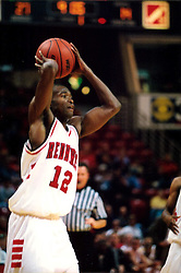 November 01, 2001: Illinois State Redbirds basketball player Tarise Bryson...This image was scanned from a print.  Image quality may vary.  Dust and other unwanted artifacts may exist.
