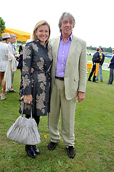 NICK & EIMEAR COOK at the 2011 Veuve Clicquot Gold Cup Final at Cowdray Park, Midhurst, West Sussex on 17th July 2011.