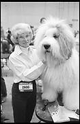 MRS. GULLIFORD. SNOWMAN, Crufts, Olympia. London. 1987.